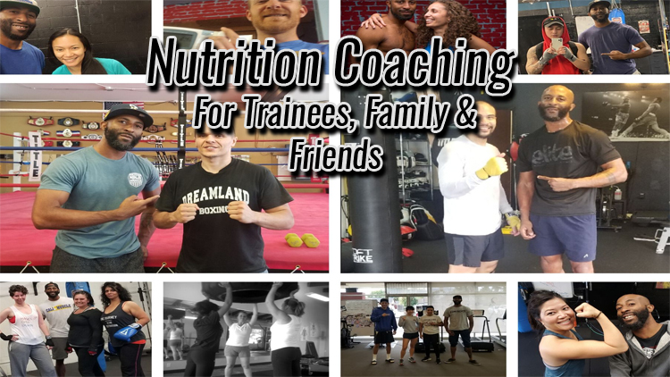 nutrition certification for trainees banner
