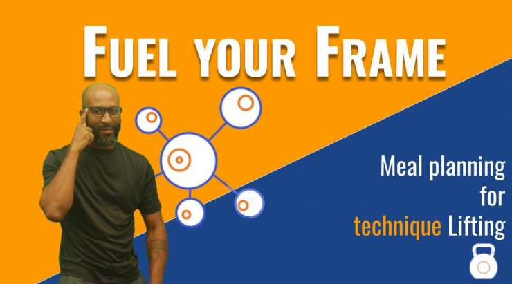 Meal Planning for weightlifting and technical Power Training | Free nutrition course Fuel your Frame #8