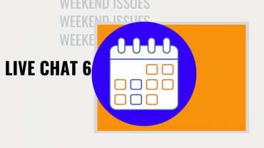 Weekend Issues | Live Chat #6