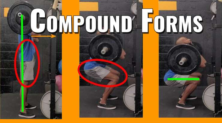 Front squat form & leg Plyometrics | Compound Forms